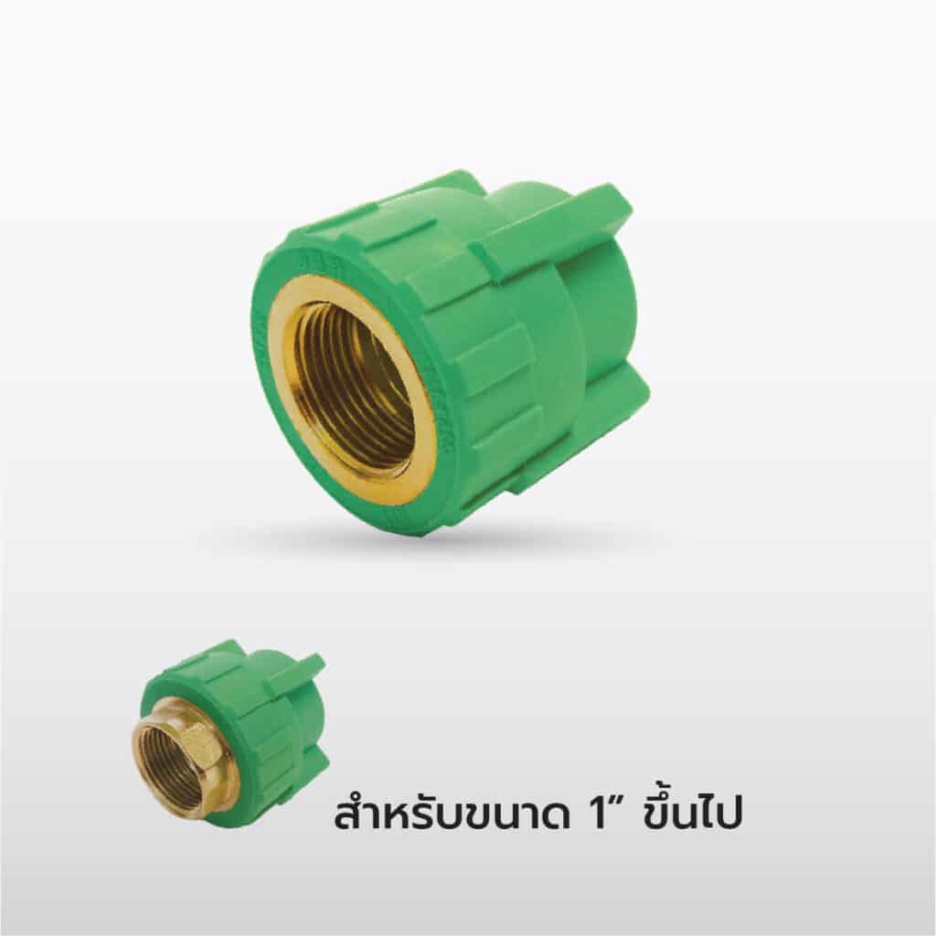 ข้อต่อตรงเกลียวนอก ทองเหลือง: Brass Male Thread Connector