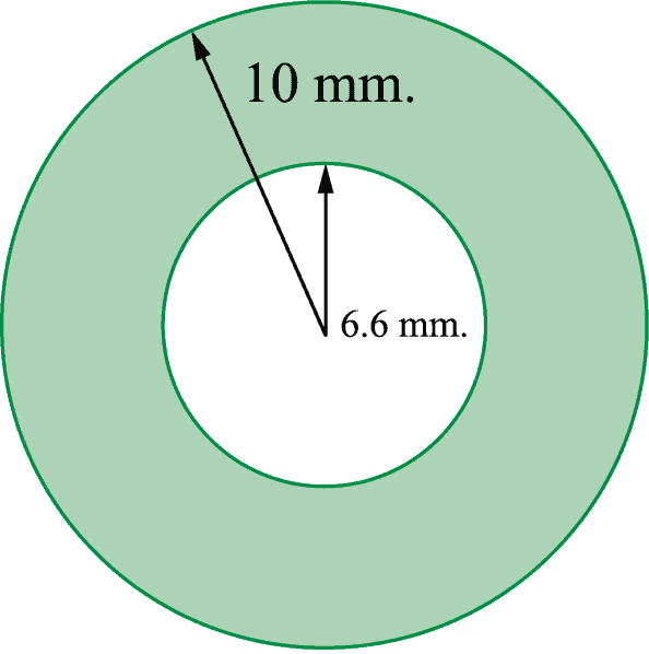 ตัวอย่างการคำนวณหาพื้นที่หน้าตัดท่อ ppr