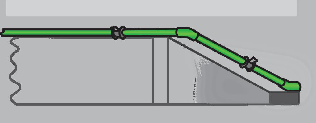 Bending Side ท่อ ppr