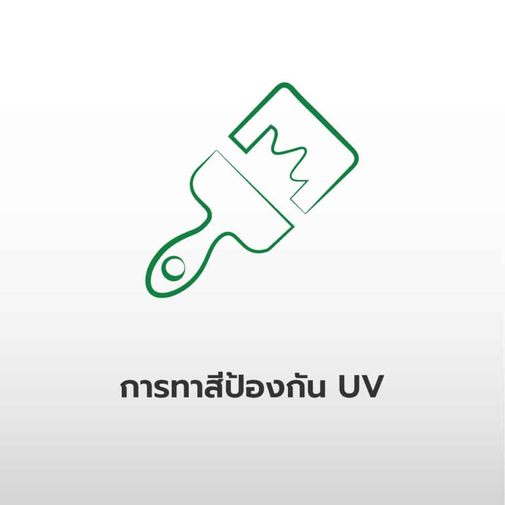 ไอคอนการทาสีท่อป้องกัน UV