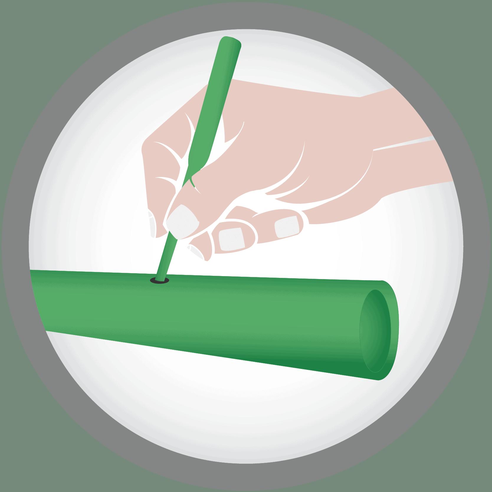 ซ่อมแซมได้ง่าย เมื่อโดนสว่าน หรือตะปูเจาะ